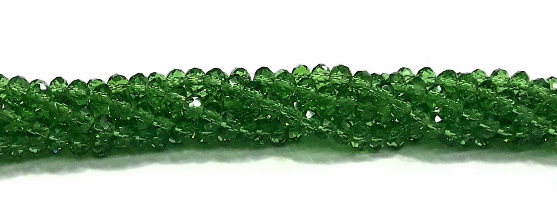 Fio de Cristal Balãozinho 4mm (Verde) - FDC15