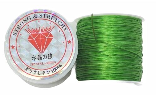 Fio de Fibra Poliester Strech Verde - NSF035
