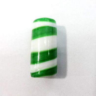 Firma Branca Rajada de Verde