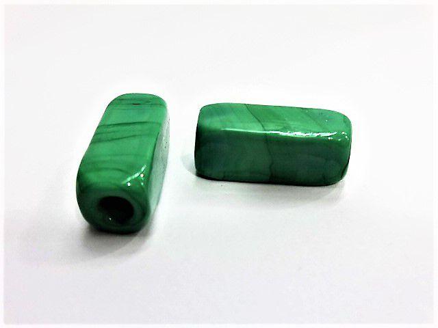 Firma Retangular Verde Leitoso