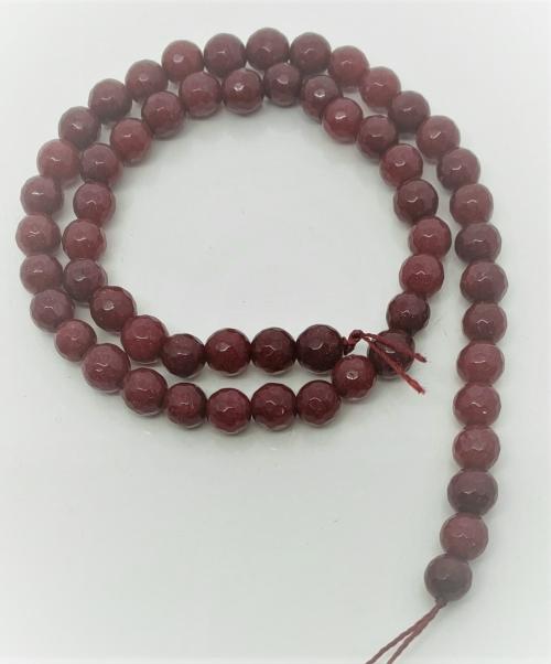 JADE RUBI FACETADA  6MM - PED08599