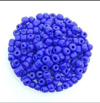 Miçangas 6/0 Azul  Leisoso