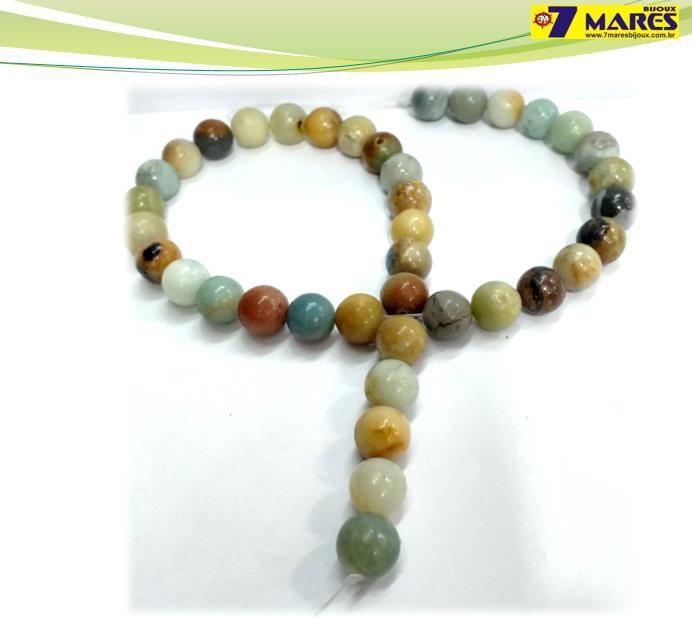 Pedra Amazonita 10mm