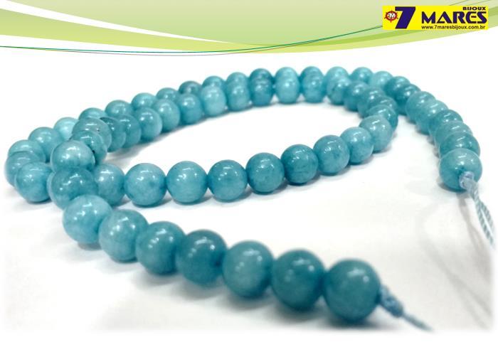 Pedra Amazonita Azul 6mm
