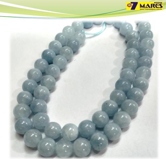 Pedra Aquamarine 6mm