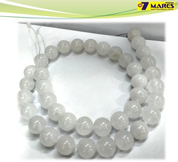Pedra Jade Milk 10mm