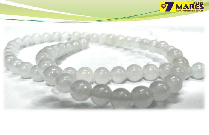 Pedra Jade Milk 6mm