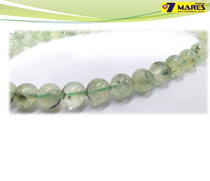 Pedra Jade Prehnita 8mm