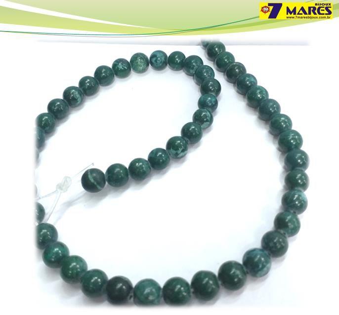 Pedra Jaspe Verde  8mm