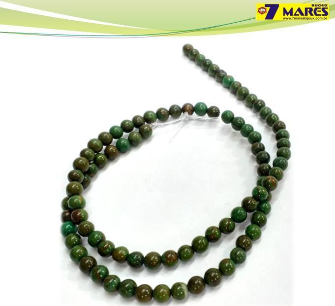 Pedra Jaspe Verde Mesclado 4mm