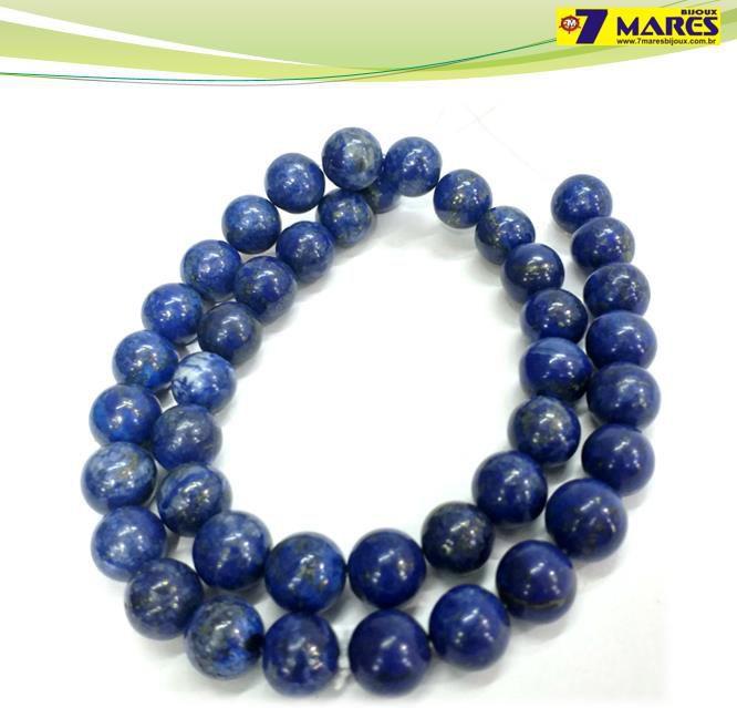 Pedra Lapis Lazuli 10mm