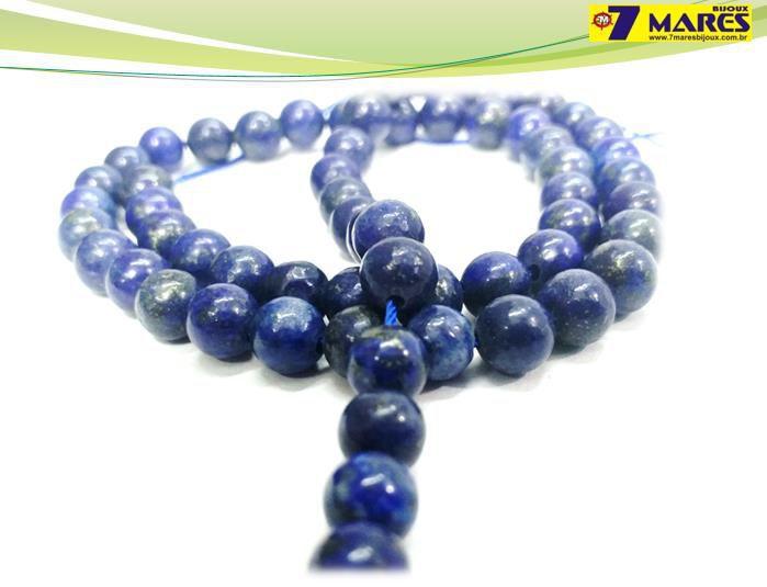 Pedra Lapis Lazuli 6mm