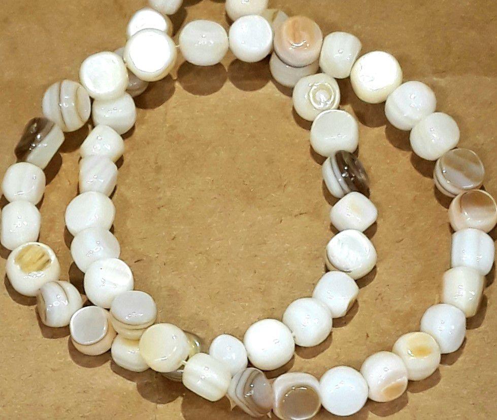 Pedra Madre Perola 6 a 7mm - MADRE01
