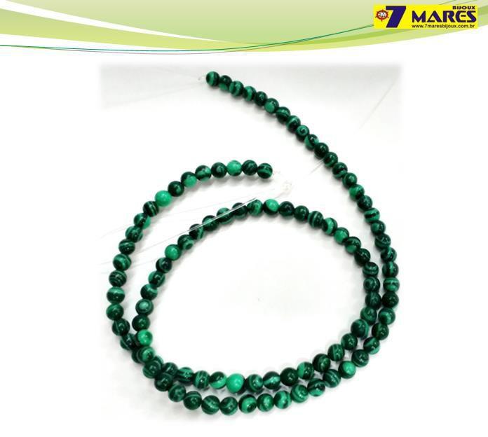 Pedra Malaquita 4mm