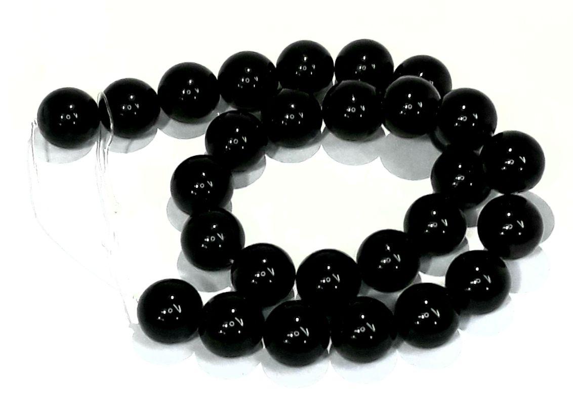 Pedra Obsidiana Black 14mm - PED1407