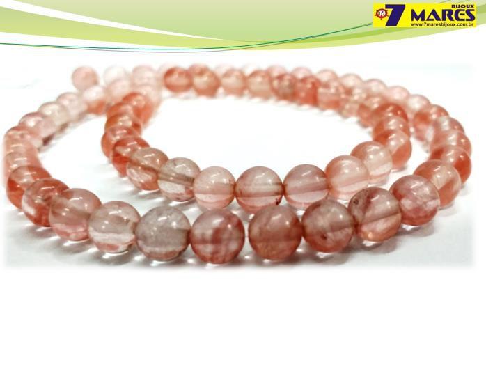 Pedra Quartzo Cherry 6mm