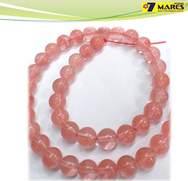Pedra Quartzo Cherry 8mm