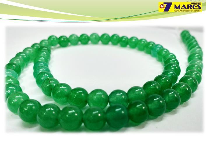 Pedra Quartzo Verde 6mm