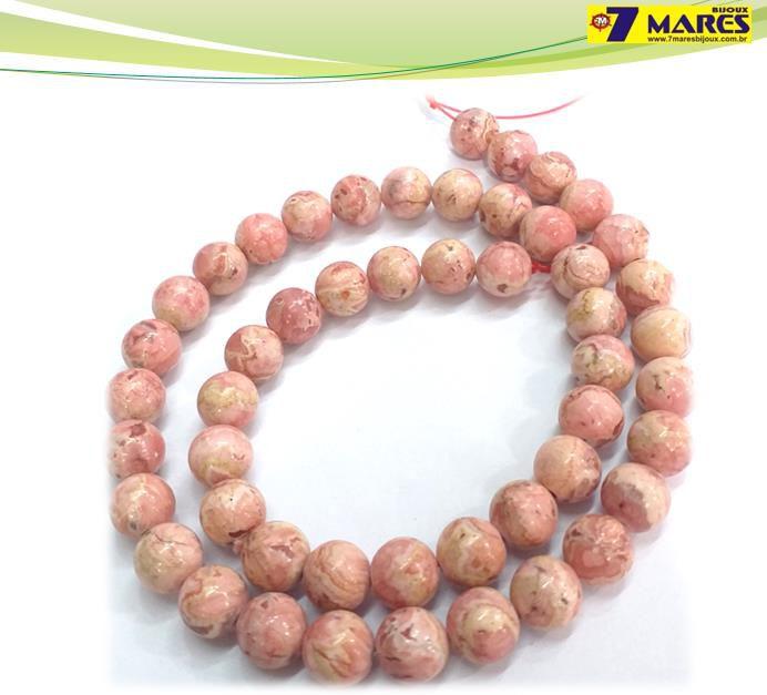 Pedra Rodocrosita Natural 8mm