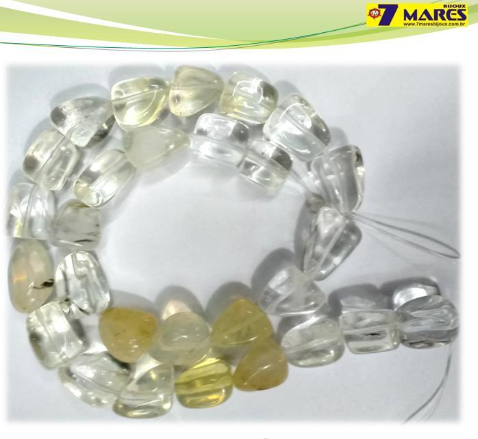 Pedra Rolada Cristal Mesclada