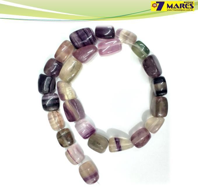Pedra Rolada Fluorita