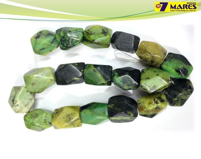 Pedra Rolada Jaspe Verde