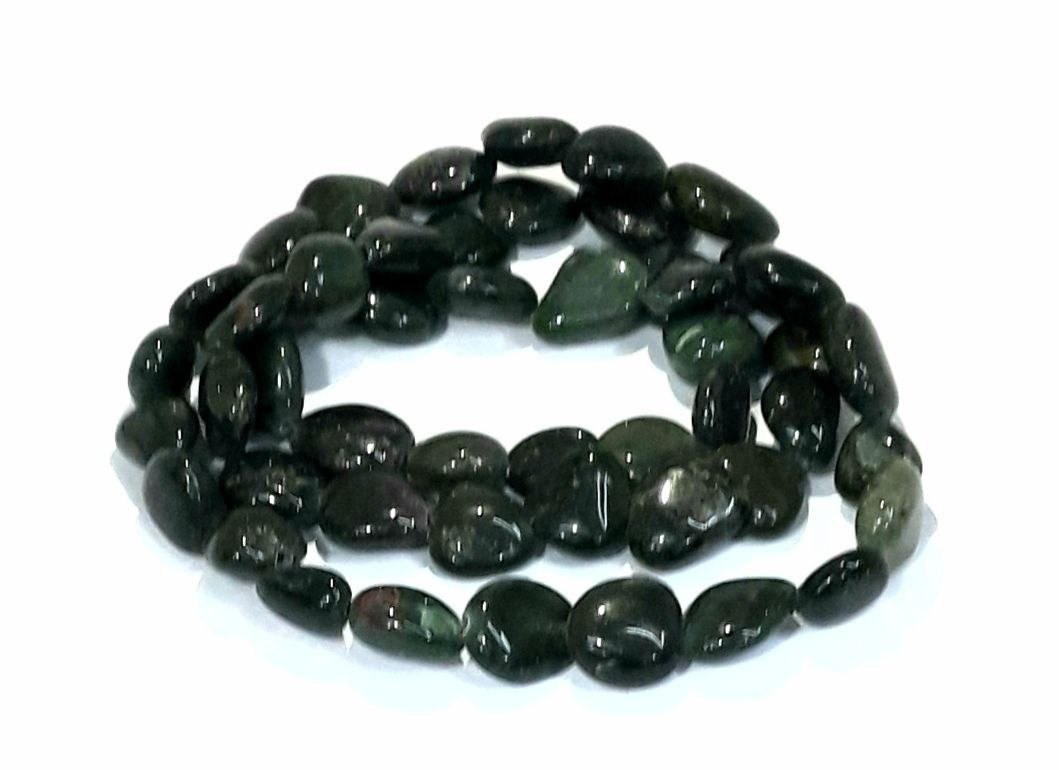 Pedra Rolada Jaspe Verde Escura - PEDR83