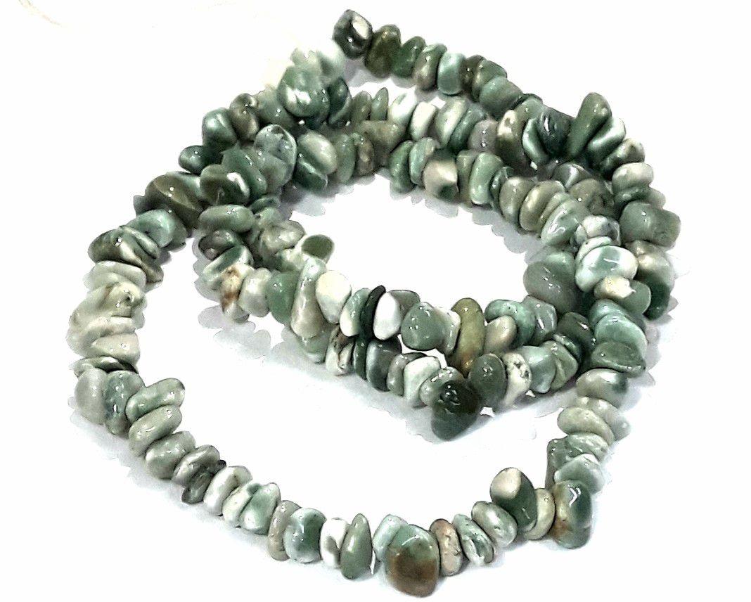 Pedra Rolada Jaspe Verde Mesclada - PEDR81