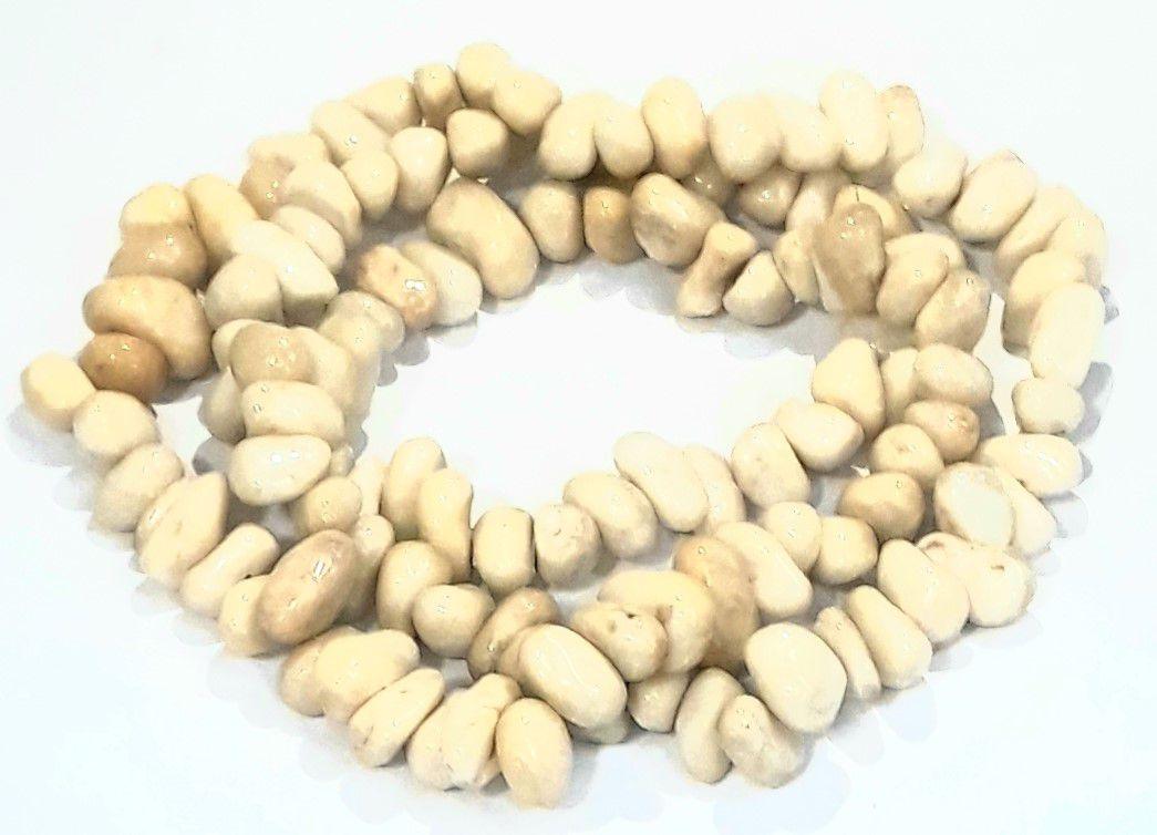 Pedra Rolada Quartzo Marfim - PEDR80