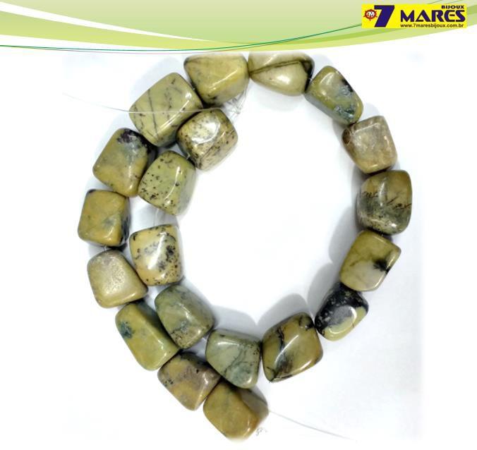 Pedra Rolada Turquesa Verde
