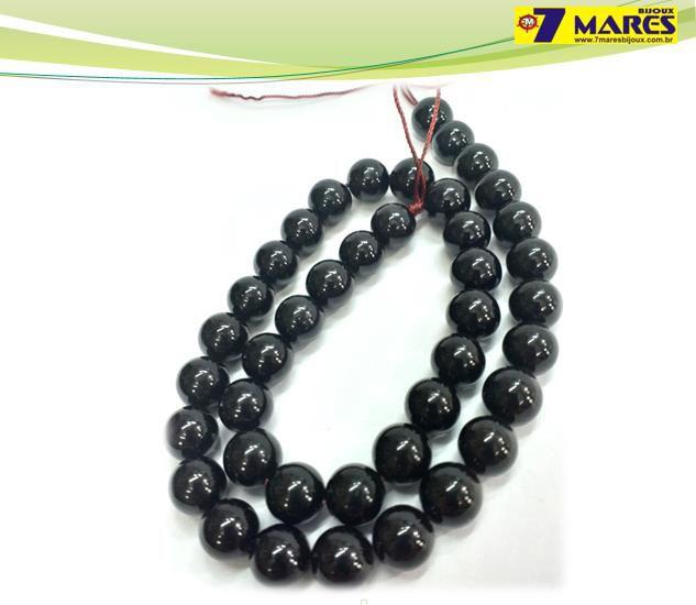 Pedra Turmalina Negra 10mm