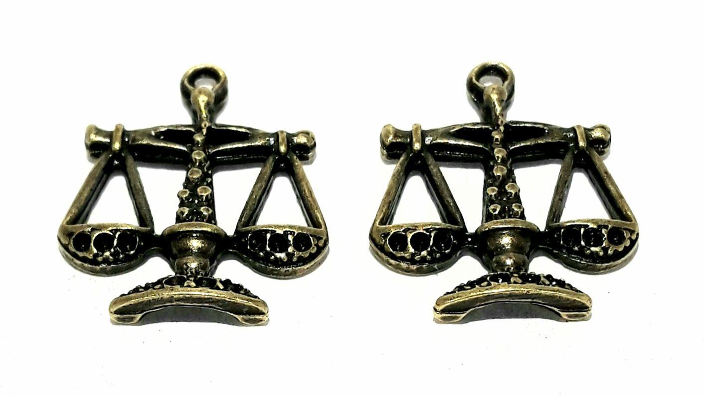 Pingente Balança da Justiça - PINGP28