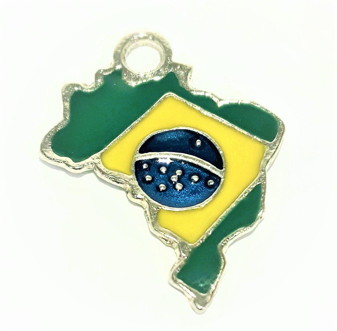 Pingente Brasil - PINR35