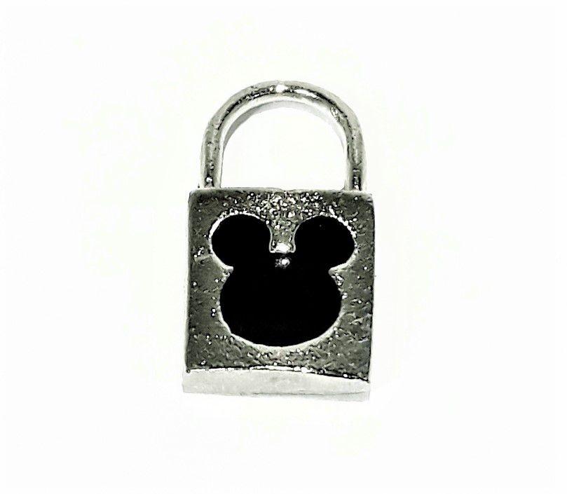 Pingente Cadeado Mickey - PINR15