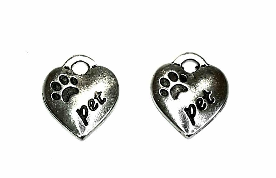 """Pingente Coração """"Pet"""" - PICO28"""