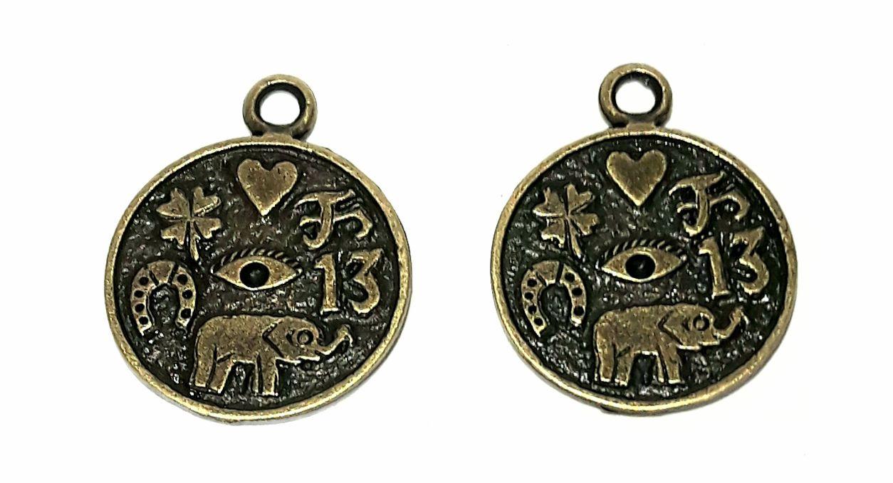 Pingente da Sorte - Medalha da Sorte - PINGS35