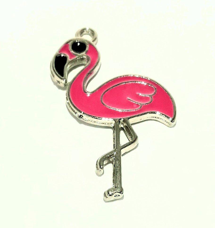 Pingente Flamingo Grande - PINR36