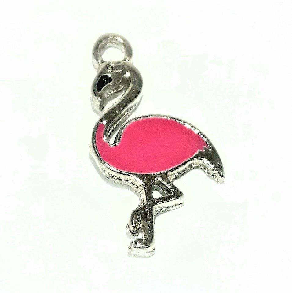 Pingente Flamingo - PINR21