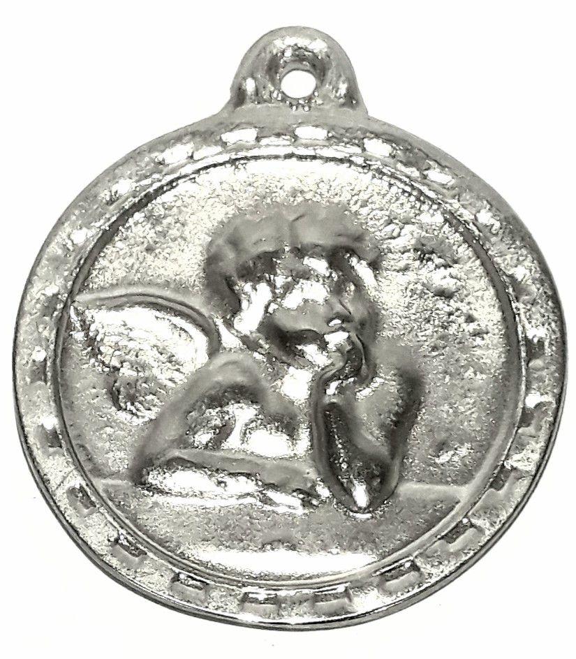 Pingente Medalha Anjo (Grande) - PINES19
