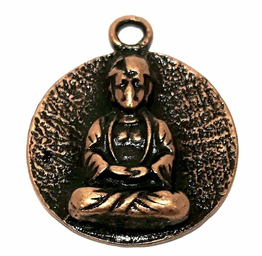 Pingente Medalha Buda - PIMIS01
