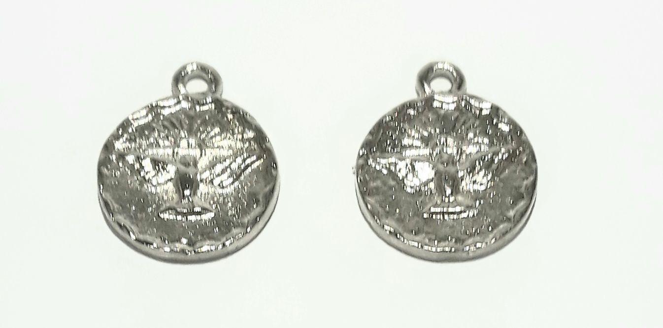 Pingente Medalha Espirito Santo - PINES05