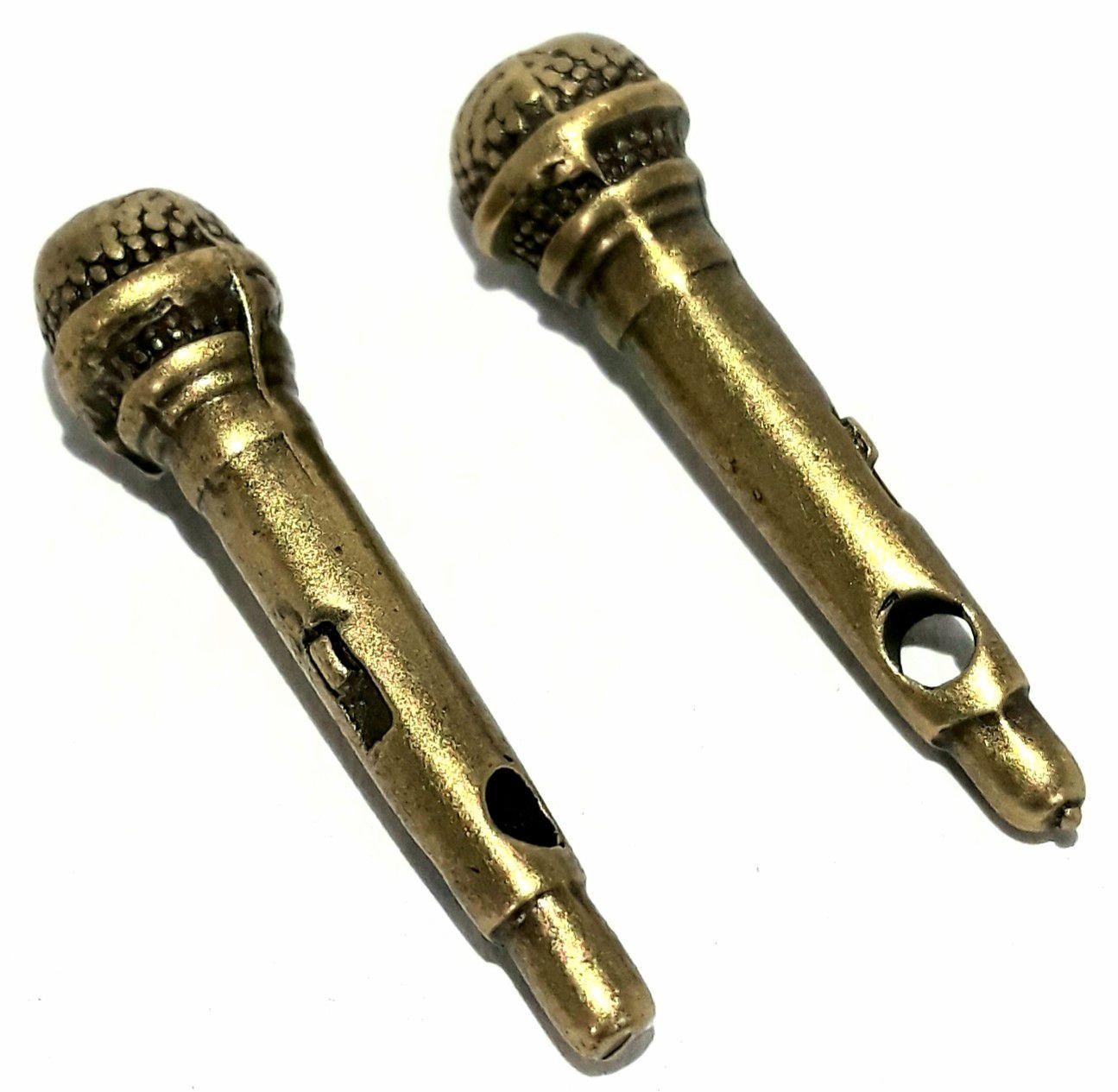 Pingente Microfone - PINGP13