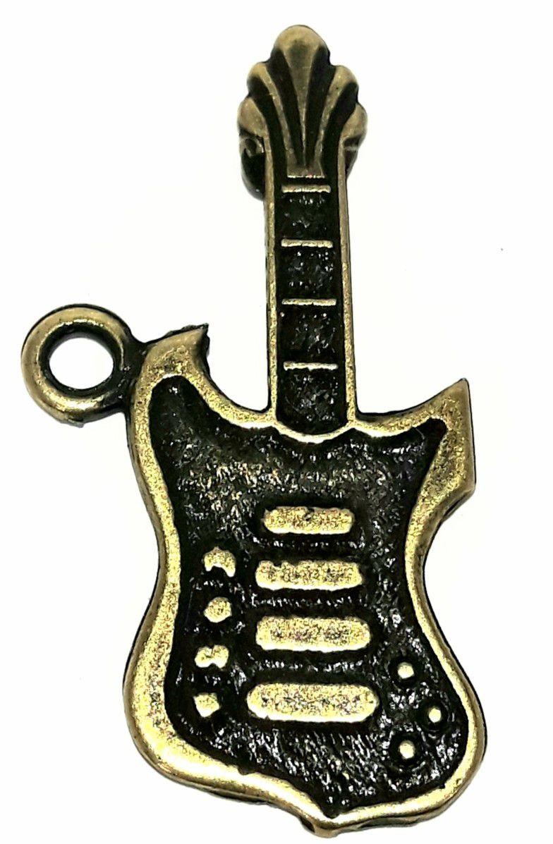 Pingente Musical Guitarra - PIMU22