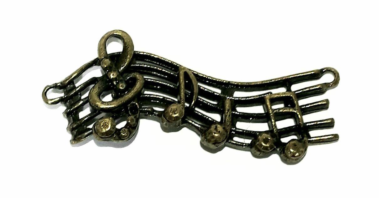 Pingente Notas Musicais - PIMU18