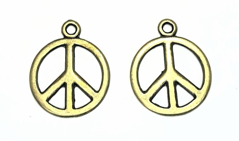 Pingente Paz e Amor - PIPM16