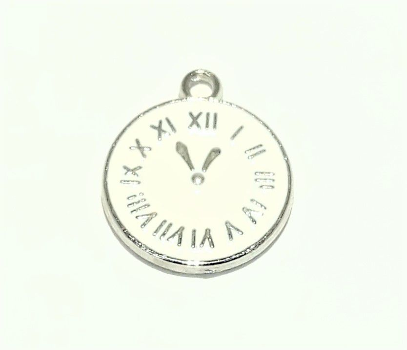 Pingente Relógio Números Romanos - PINR40