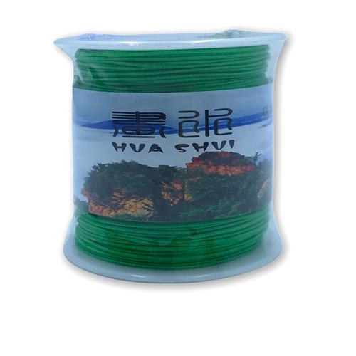 Rolo Linha de Seda Cor Verde