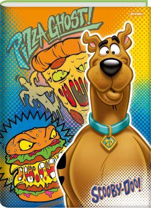 Caderno Brochura Scooby Doo Pizza Ghost Capa Dura 96 Folhas