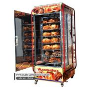 Assador Multiuso Giratorio 100 Kg 56 Frangos  Master Grill Luxo