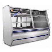 Balcão Refrigerado 2 Pista Fria 1,20 Mts em Inox   Ormifrio